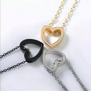 Jewelry - Hallow Heart Necklace